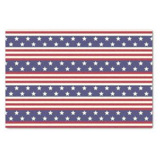 Papel De Seda Bandeira americana patriótica EUA da bandeira dos