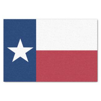 Papel De Seda Bandeira azul branca vermelha de Texas