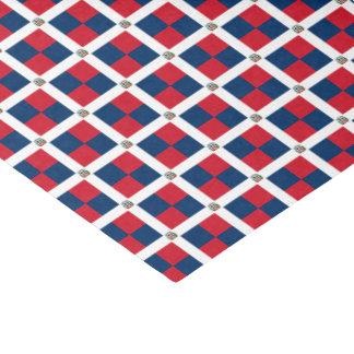 Papel De Seda Bandeira da República Dominicana