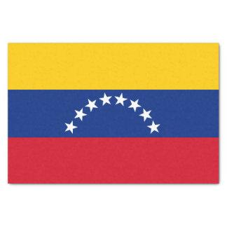 Papel De Seda Bandeira de Venezuela