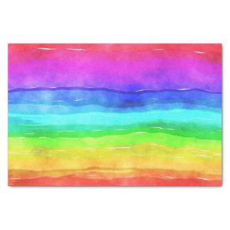 Papel De Seda Bandeira do símbolo do orgulho que dá uma