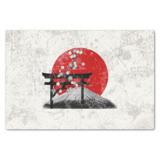 Papel De Seda Bandeira e símbolos de Japão ID153