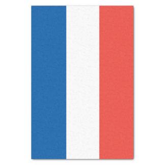 Papel De Seda Bandeira francesa, la France de Vive, partido do