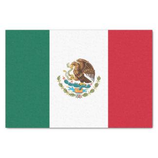 Papel De Seda Bandeira mexicana patriótica