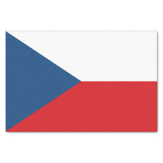 Papel De Seda Bandeira patriótica da república checa