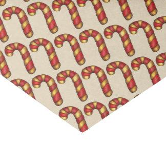 Papel De Seda Bastão de doces do biscoito do Natal do Peppermint