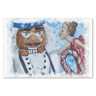 Papel De Seda Beijo quadro floco de neve do Nutcracker