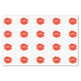 Papel De Seda Beijo vermelho 4Karl do batom