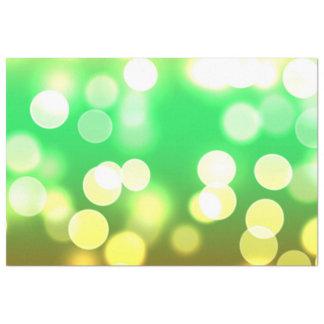 Papel De Seda bokeh 3 das luzes macias