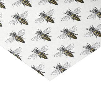 Papel De Seda Brasão heráldica formal C da abelha #2 do vintage