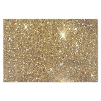 Papel De Seda Brilho luxuoso do ouro - imagem impressa