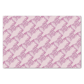 Papel De Seda Cadeira ornamentado cor-de-rosa do