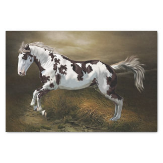 Papel De Seda Cavalo da pintura de Tovero do quadro do respingo