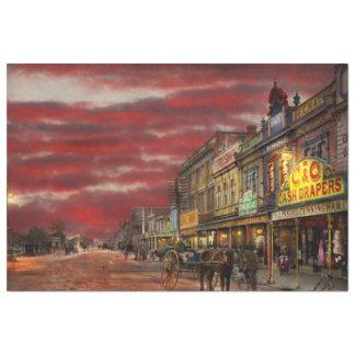 Papel De Seda Cidade - NZ - o distrito 1908 da compra