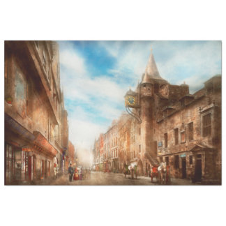 Papel De Seda Cidade - operador 1865 de Scotland - de Tolbooth