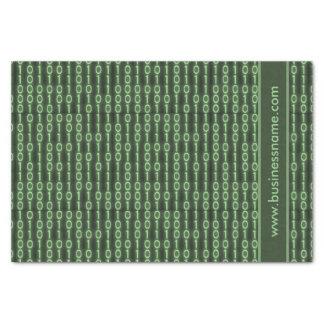 Papel De Seda Código binário