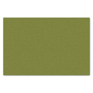 Papel De Seda Cor sólida - verde azeitona macia