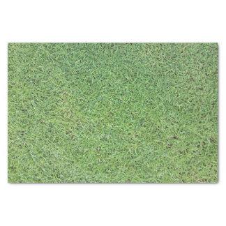 Papel De Seda Corte o gramado da grama