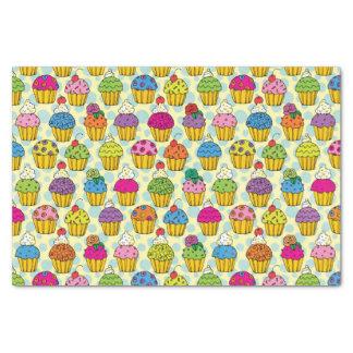 Papel De Seda Cupcakes coloridos