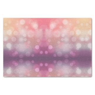 Papel De Seda Design cor-de-rosa e roxo elegante do inclinação