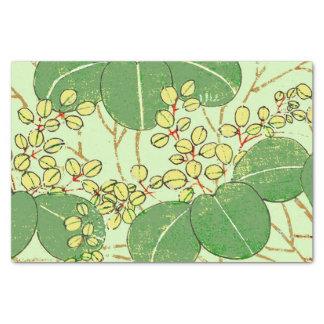 Papel De Seda Design floral asiático japonês do impressão da