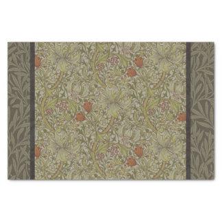 Papel De Seda Design floral do impressão da arte do salgueiro do