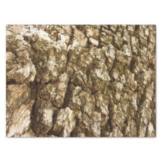Papel De Seda Design Textured do latido de árvore II abstrato