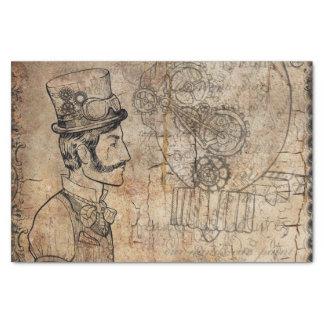 Papel De Seda Dia dos pais do chapéu alto do inventor de