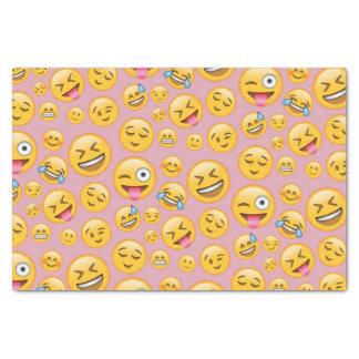Papel De Seda Do smiley do riso teste padrão alto (lol) de Emoji