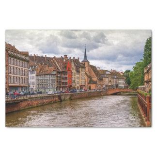 Papel De Seda Doca do Saint Nicolas em Strasbourg, France