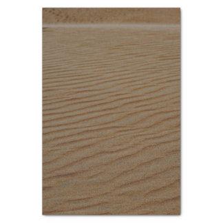 Papel De Seda Duna-Abstrato da areia por Shirley Taylor