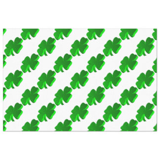 Papel De Seda Elegante engraçado do verde do teste padrão do