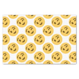 Papel De Seda Emoji Wink
