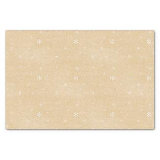 Papel De Seda Estilo do vintage do floco de neve