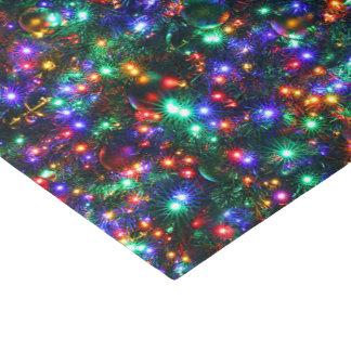 Papel De Seda Estrelas Sparkling do Natal
