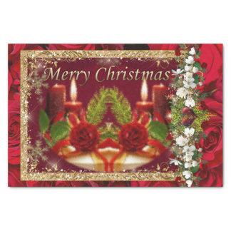 Papel De Seda Feliz Natal