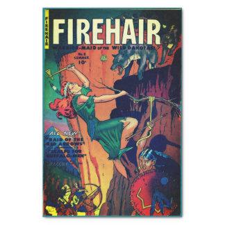 Papel De Seda Firehair #8-Warrior-Maid dos Dakotas!