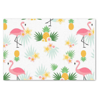 Papel De Seda Flamingo cor-de-rosa