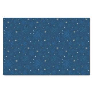 Papel De Seda Flocos de neve & luz das estrelas Sparkling