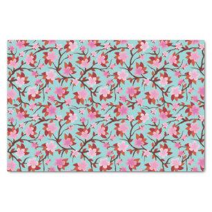 Papel De Seda Flor de Sakura