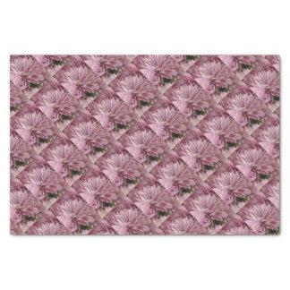 Papel De Seda Flor listrada cor-de-rosa