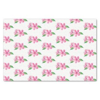 Papel De Seda Flores cor-de-rosa do amor da aguarela que Wedding