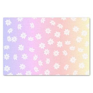Papel De Seda Flores do arco-íris