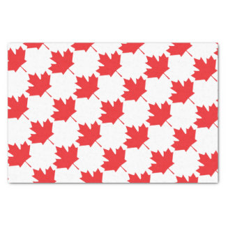 Papel De Seda Folha de bordo canadense
