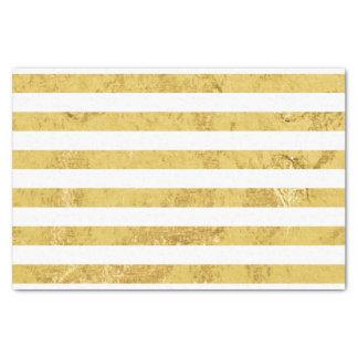 Papel De Seda Folha de ouro elegante e teste padrão branco da