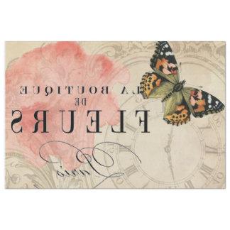 Papel De Seda Folha de transferência de imagem da borboleta do