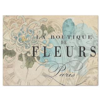 Papel De Seda Folha floral de Decoupage do boutique do La