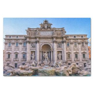 Papel De Seda Fonte do Trevi, Roma, Italia