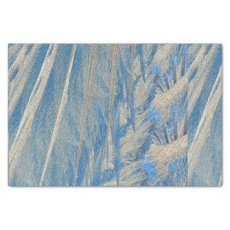 Papel De Seda Frost azul