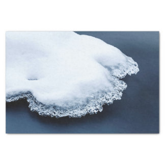 Papel De Seda Gelo, neve e água movente